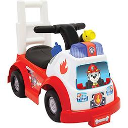 Adorable Paw Patrol Marshall Themed Firetruck Ride-On for Ki