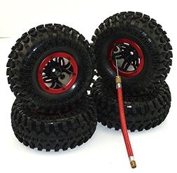 4Pack Air Filled Inflated 2.2 Bead Lock Wheel Tire System fo