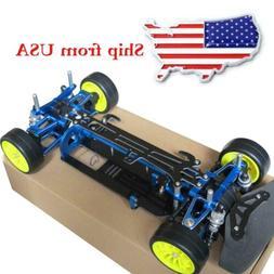 Alloy & Carbon TT01 TT01E Shaft Drive 1/10 4WD Touring Car F
