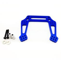 Atomik RC Alloy Front Shock Tower, Blue fits the Traxxas 1/1