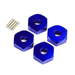 Atomik RC Alloy Wheel Hex Adaptor, Blue fits the Traxxas 1/1