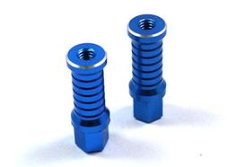 Dhawk Racing Aluminum Battery Posts Blue For Team associated