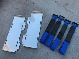 ALUMINUM BATTERY TRAYS FOR TRAXXAS SLASH 4X4 LCG CHASSIS