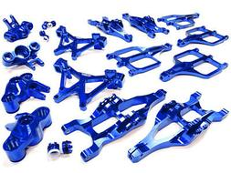 Integy Aluminum Billet Machined Suspension Set for Traxxas 1
