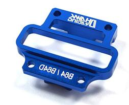 Dhawk Racing Aluminum Mid Diff Top Plate Blue For Team Assoc