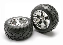 Anaconda tires & All-Star chrome wheels assembled, glued  (n