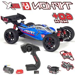 ARRMA AR106028 1/8 TYPHON 6S BLX Brushless 4WD RTR Blue/Silv