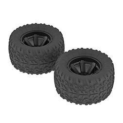 ARRMA AR550014 Copperhead MT Tire/Wheel , Glued Black