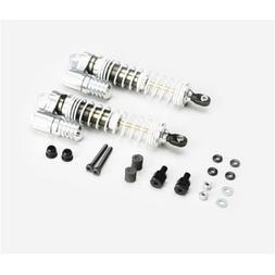 Integy Axial SCX-10 Silver Aluminum Piggyback Shocks - C2318