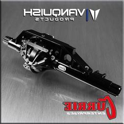 Vanquish Products Axial Wraith Front Currie Axle Black Anodi