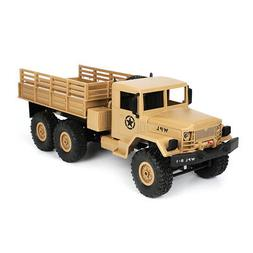WPL B16 1/16 2.4G 6WD Military Truck Crawler Off Road RC Car