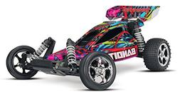 Traxxas Bandit 1/10 Scale Off-Road Buggy Vehicle with TQ 2.4