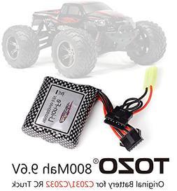 TOZO 9.6V 800mAh Battery for C2031 / C 2032 RC CAR High Spee