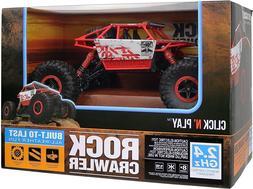 BK3RC3 Click N' Play Remote Control Car 4WD Off Road Rock