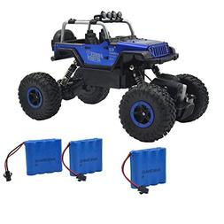 Blomiky Wesipi C182 1:18 4WD Alloy Blue Monster RC Cars Toy