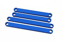 Blue Aluminum Camber Arms for Traxxas Rustler and Stampede 2