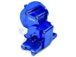 Integy Blue Aluminum Gear Box Traxxas Stampede, Rustler, Sla