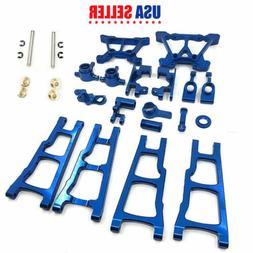 Blue Aluminum Metal Upgrade parts Kit For TRAXXAS SLASH 4x4