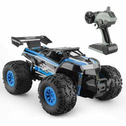 Blue Off-Road RC Monster Truck Vehicle Remote Control Climbe