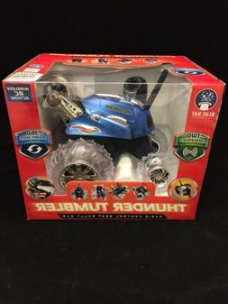 Blue Thunder Tumbler RC 360 Rally Car LED Lights Two Frequen