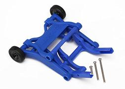 Traxxas 3678X Blue Wheelie Bar, Assembled
