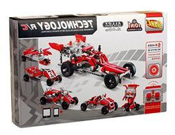 Bo-Toys R/C 10 in 1 Race Cars Building Bricks Radio Control