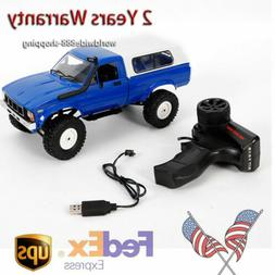 WPL C-24 RC Car 1/16 2.4G 2CH RC Car with 4 Wheel Drive Syst