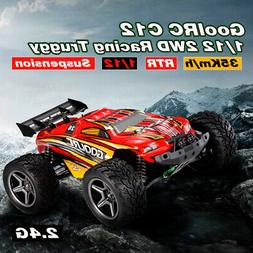 C12 2.4GHz 2WD 1/12 35km/h Brushed Electric Off-Road B uggy