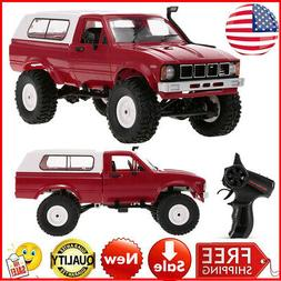 WPL C24 1/16 RC Car Crawler Off-Road With Headlight 4WD Pick