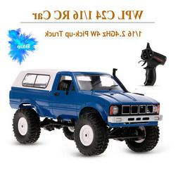 WPL C24 1/16 RC Car Crawler Off-Road Headlight 4WD Truck for
