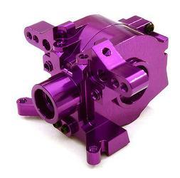 C26954PURPLE Integy Front Center Gearbox Bulkhead for Vaterr