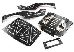 Integy C27671BLACK Alum Alloy Body Panel Kit : Axial 1/10 Wr