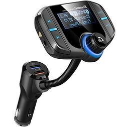 Sumind Car Bluetooth FM Transmitter Wireless In-car Radio Ad
