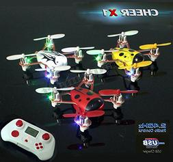 CHEER X1 2.4Ghz 4CH 6-Axis GYRO Remote Control Nano Mini RC