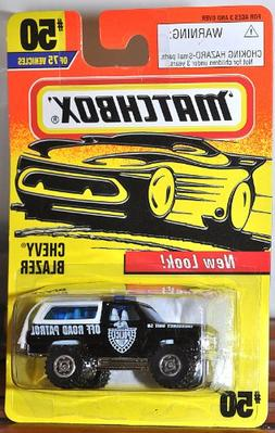 Matchbox Chevy Blazer #50 Off Road Patrol