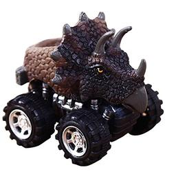 Christmas Gift Toy, Joykith Pull Back Cars Big Tire Wheel Ve