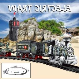 Classic Electric Simulation Rail Train Chargeable Steam <fon