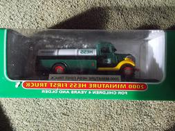Collectible 2000 Hess Miniature First Truck