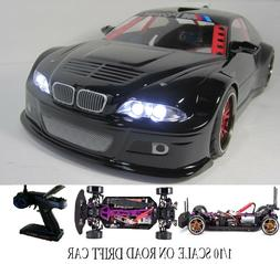 Custom 1/10 Scale Remote Control On-road Drift Car RC BMW M3