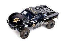 Custom Body Police Style for Traxxas 1/10 Slash 4x4 VXL Slay
