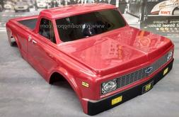 Custom Painted Body 1972 Chevy C10 For 1/10 RC Short Course