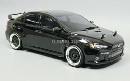 Custom RC 1/10 Drift MITSUBISHI LANCER EVO X AWD Belt CAR BL