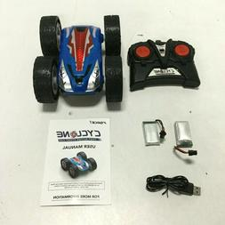 Force1 Cyclone Fast Action Double Sided RC Stunt Car with Br