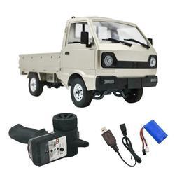 WPL D12 1:10 RC White Scale/Drift Truck RTR US Seller