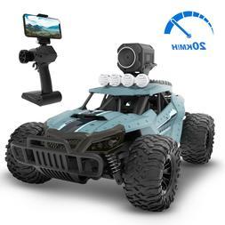 DE36W RC Car with 720P HD FPV Camera High Speed All Terrain