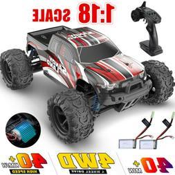 DEERC 1:18 4WD RC Car Remote Control RC Truck 40km/h High Sp