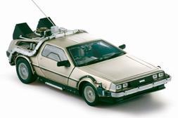 Delorean Diecast Model 1:18 Back to the Future I Die cast Ca