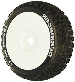 Duratrax Derringer  C2 Mounted Buggy Tire   , White