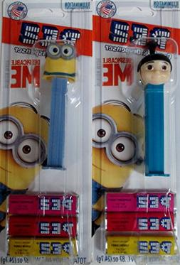 Despicable Me Candy Pez Dispensors Dave and Agnes