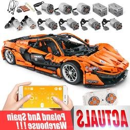 DHL 20087 The MOC-16915 McLaren P1 Speed <font><b>Car</b></f